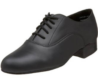 BR02 - Standard Oxford in Black Leather by Capezio