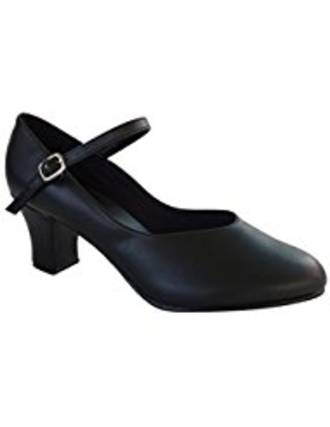 "CH791 So Danca Strap & Buckle 1 1/2""heel"