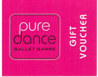 Pure Dance Gift Voucher