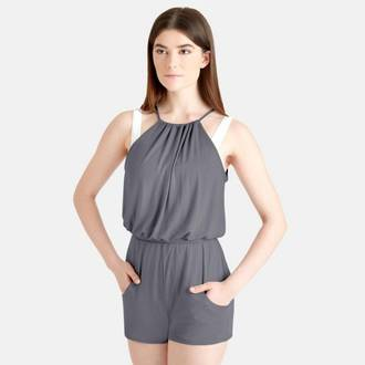 CK1032 Pleated Romper
