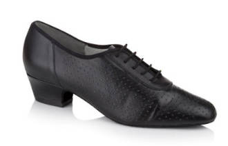 Quartz - Black Leather Practice Shoe by Freed