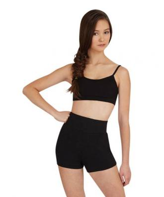 TB131C - Childs High Waisted Shorts