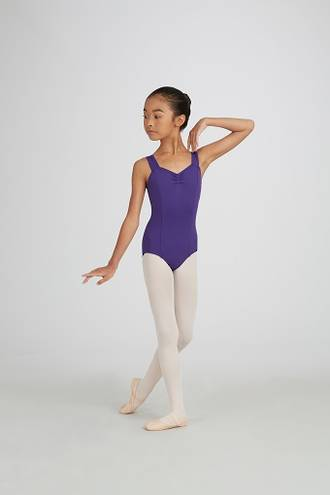 TC0001C - Childs Tactel Wide Strap Leotard