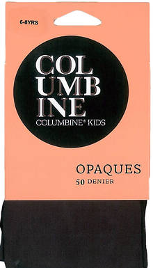 132C - Child Opaque Tights 50d