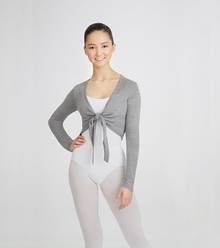 CS300 - Adult Crop Tie Sweater