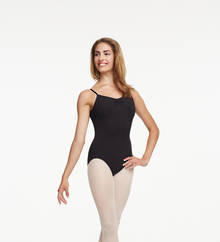 TC0052W - Tactel Pinch Front Leotard