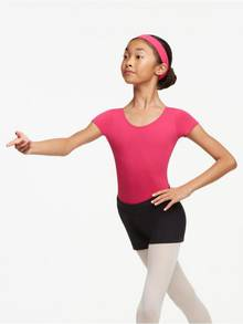 TC0054C - Childs Short Sleeve Leotard