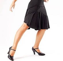 E11043 - Black Basic Dance Skirt