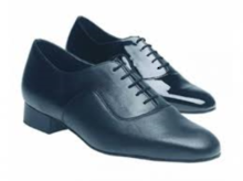 Astaire - Wide Fitting Black Leather Comfort by Freed