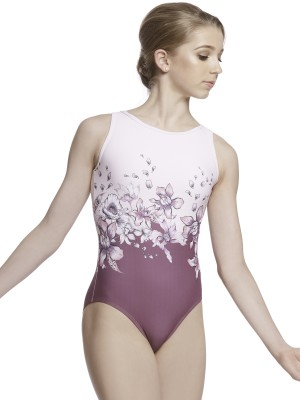 Flora Leotard in Pink