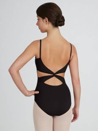 MC102 - Twist back Camisole Leotard