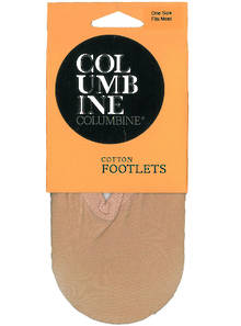 216 - Cotton Blend Footlet Socks