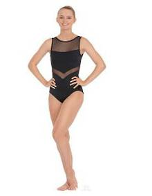 Arrow mesh Leotard by Eurotard