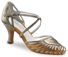 64160 - Multi Strapped Metallic Leather