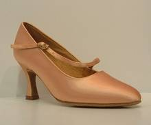 "C2003 - Flesh Satin Court 2.5"" Heel"