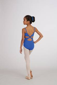 MC102C - Twist back Camisole Leotard