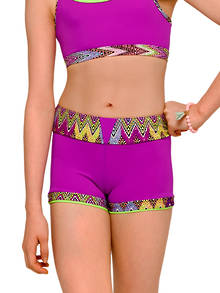 Fiesta Shorts by Strut Stuff